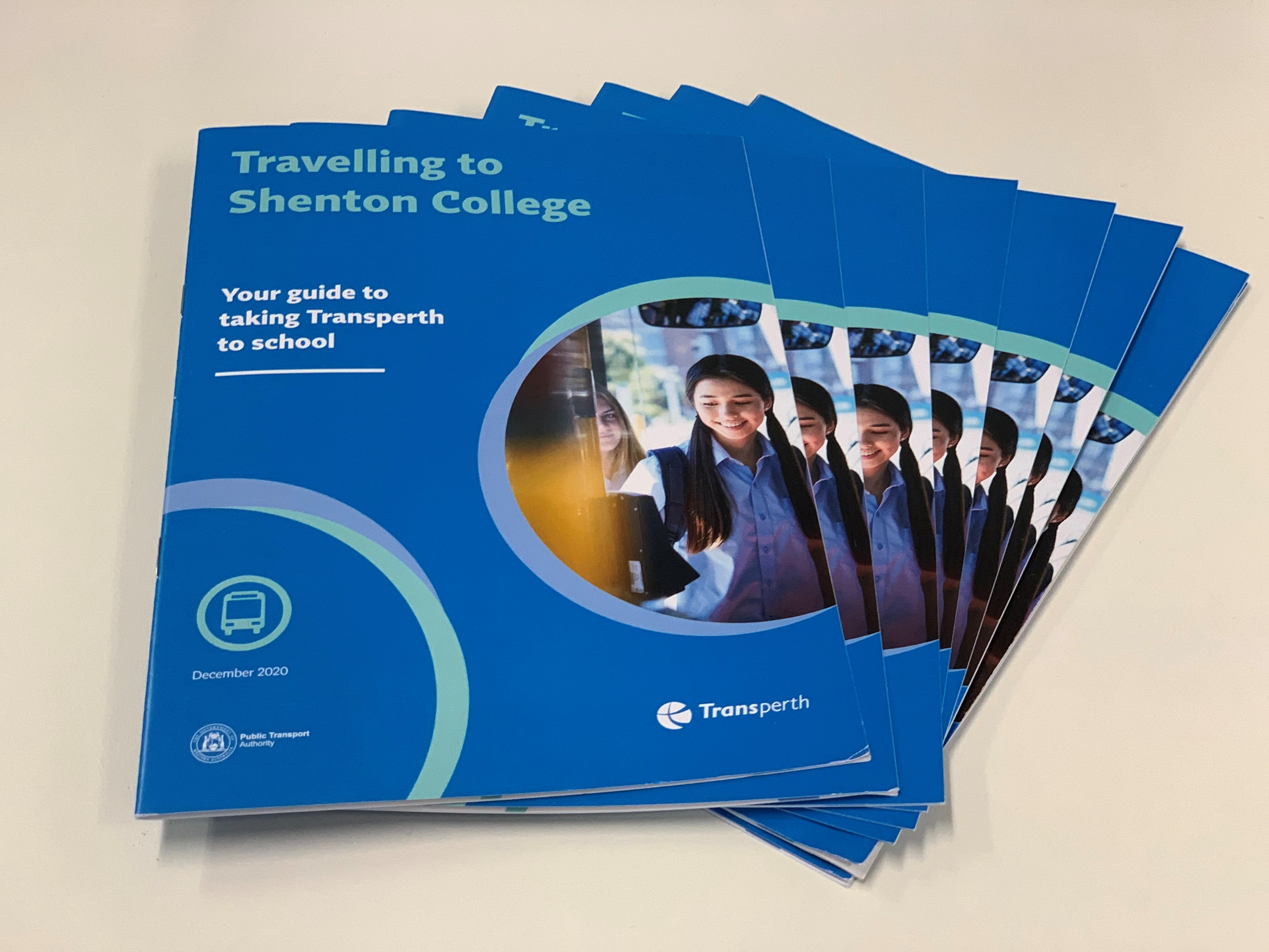 Transperth school services brochures